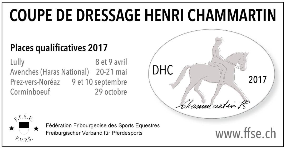 pub DHC cavalier romand 2017 grand