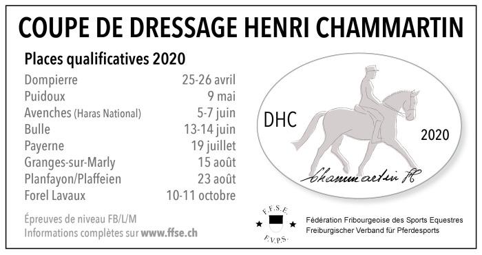 pub DHC cavalier romand 2020
